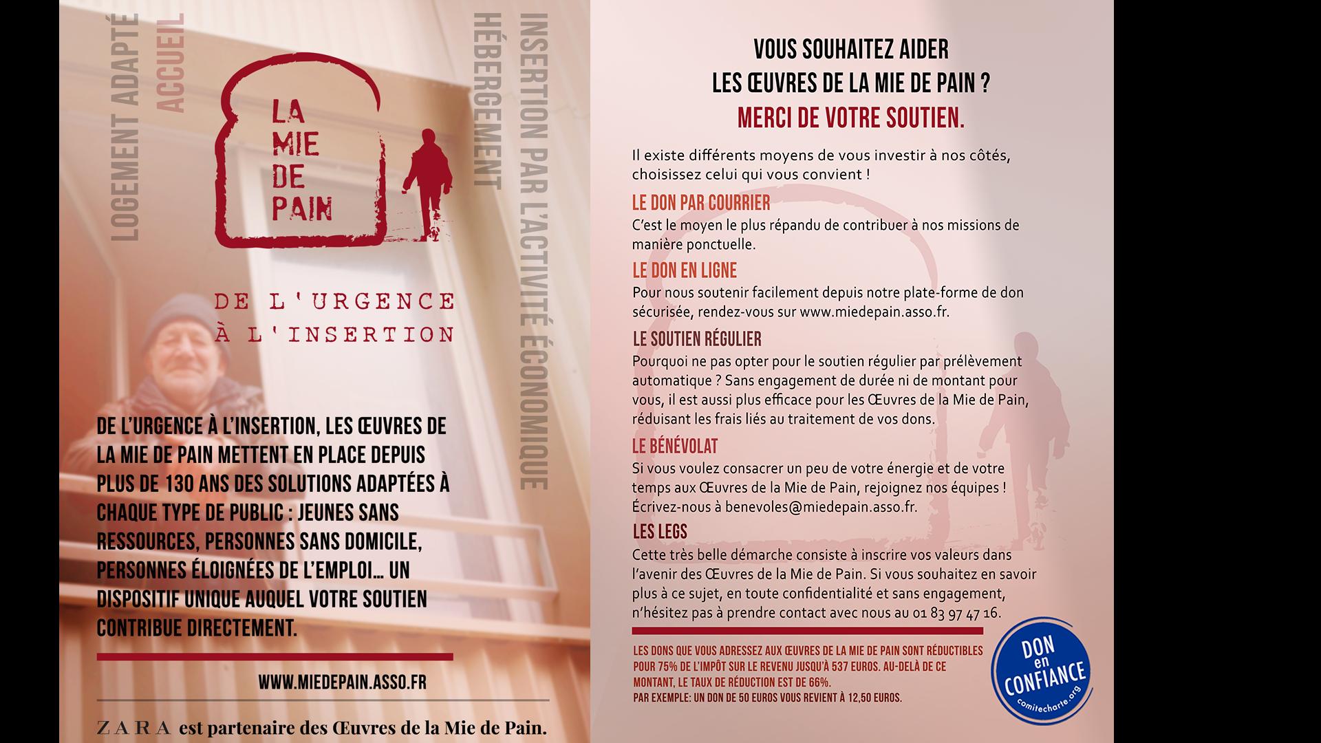 Partenariat Avec La Mie De Pain Institut De L Entreprise